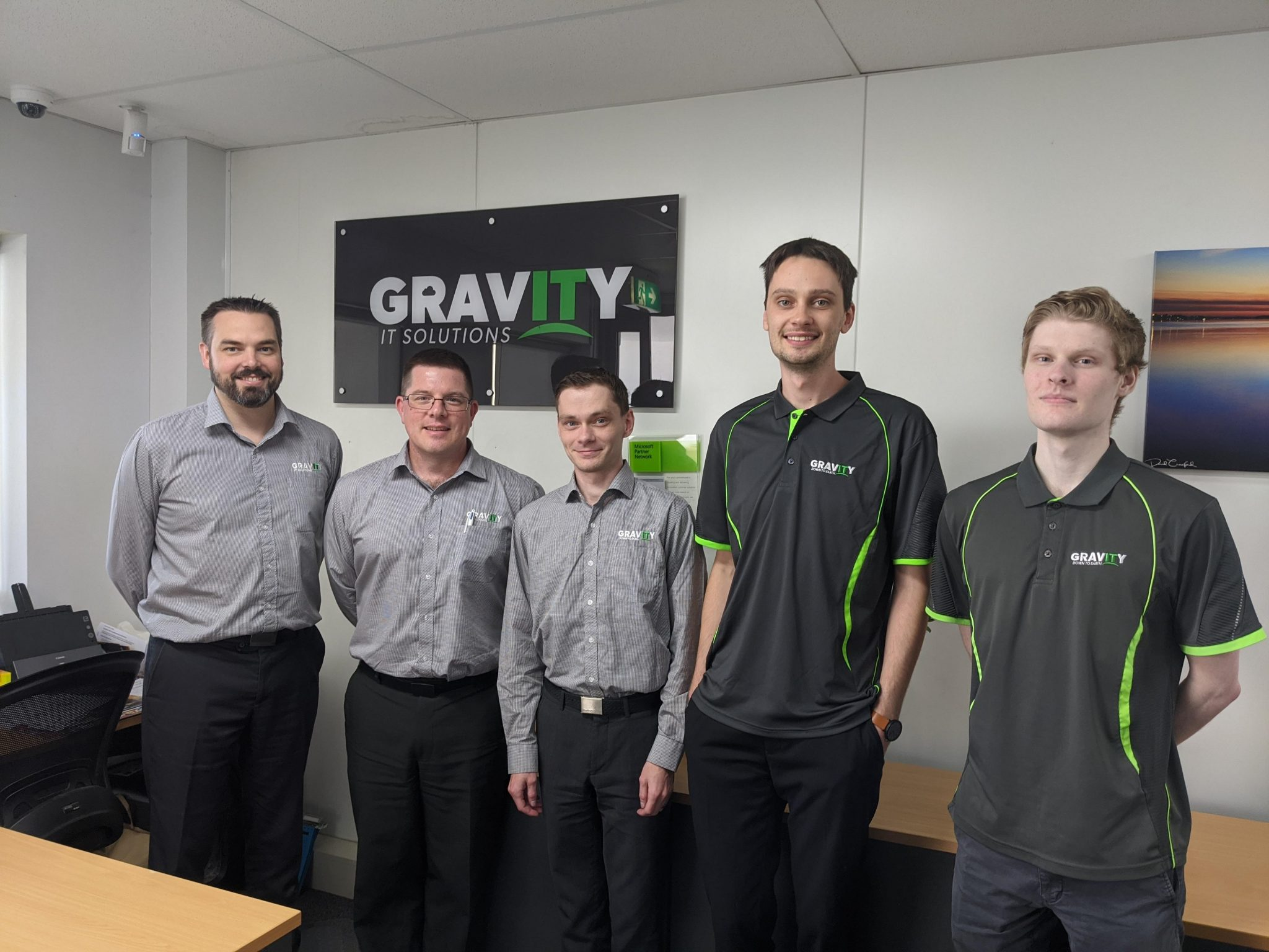 Gravity IT team